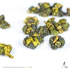 Шань Линь Си Цзинь Сюань «Золотой Цветок с Шаньлиси» (высокогорный молочный улун)